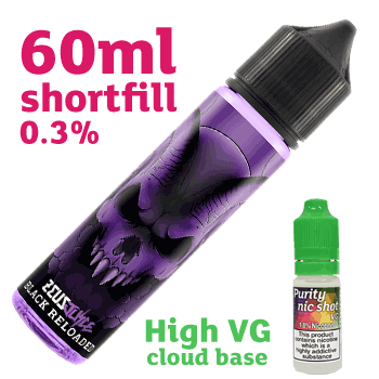 60ml Black Reloaded 0.3% High VG